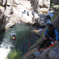 Canyoning in den Gorges du Tapoul